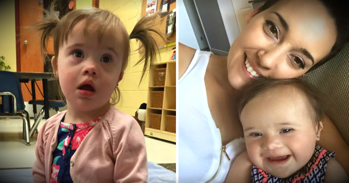 Staring At Baby With Down Syndrome, Couple's Kind Words Stun Mom