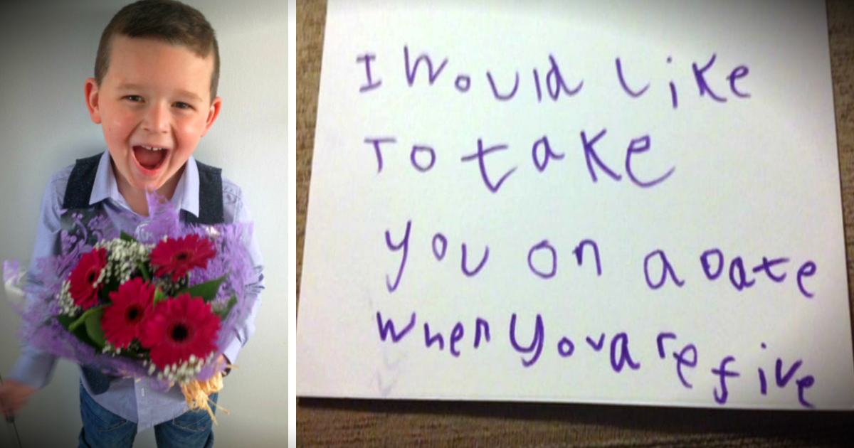 First Date Between 5-Year-Old Boy And His Best Friend Is Too Cute