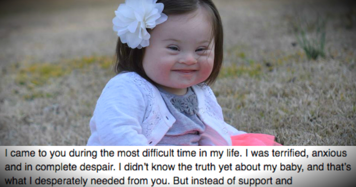 Mother's Letter To The Doctor Who Urged Her To Abort Her Baby