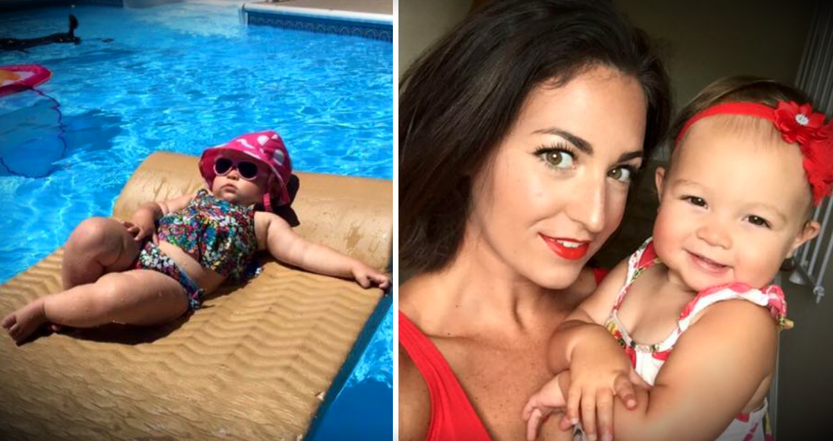 Mom-Shaming Of Her Baby Girl's Pool Pic Prompts This Mom To Fire Back