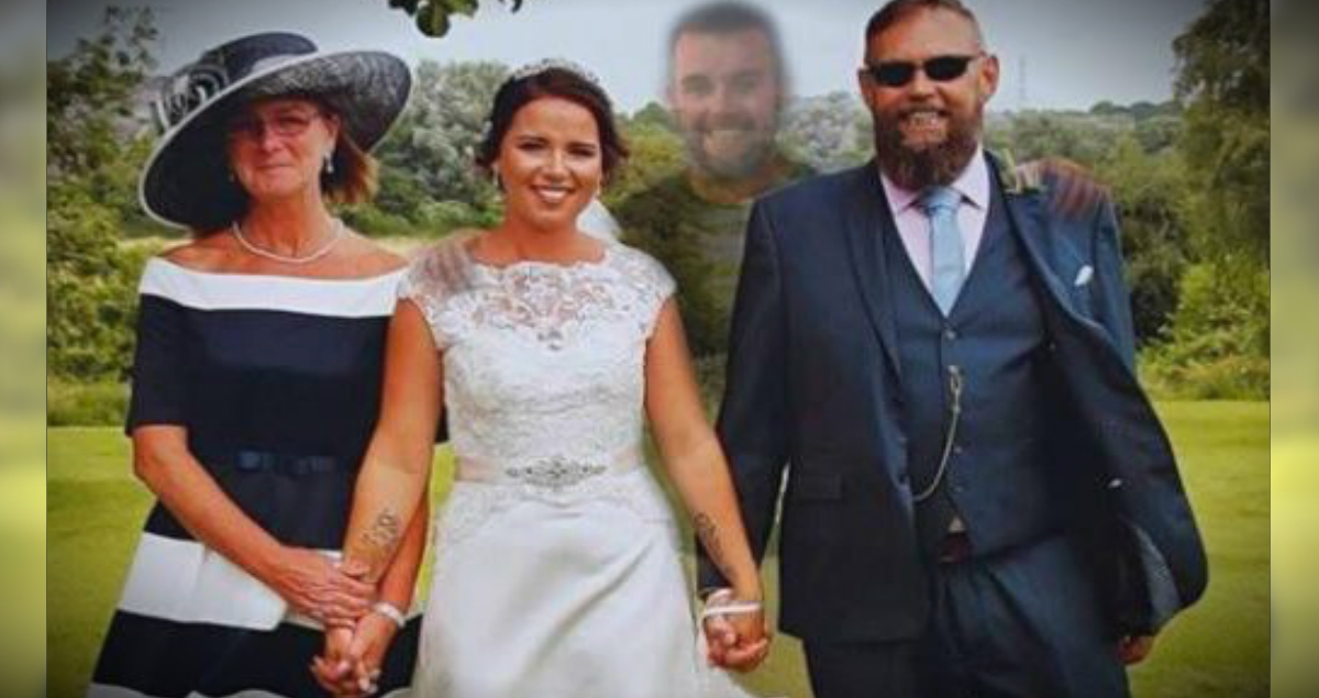 Deceased Brother Of Bride Edited Into Wedding Photos As Sweet Tribute