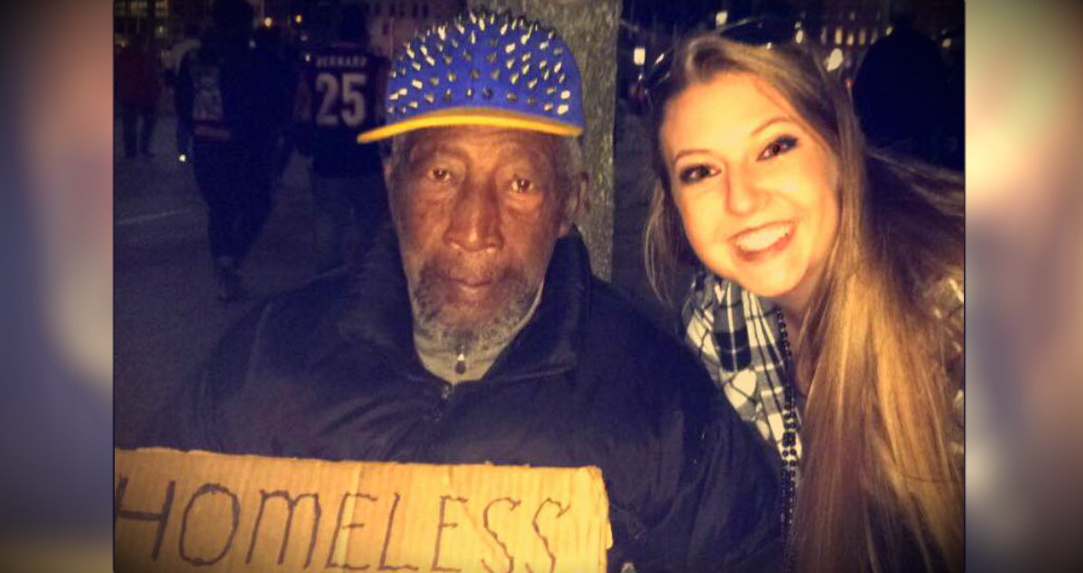 Woman Has Homeless Man Watch Her Purse And Gets A Lesson In Trust