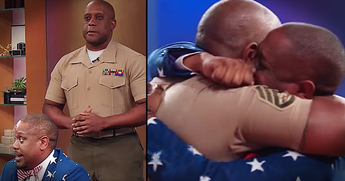 Emotional Military Reunion Between Brothers On Daytime Talk Show