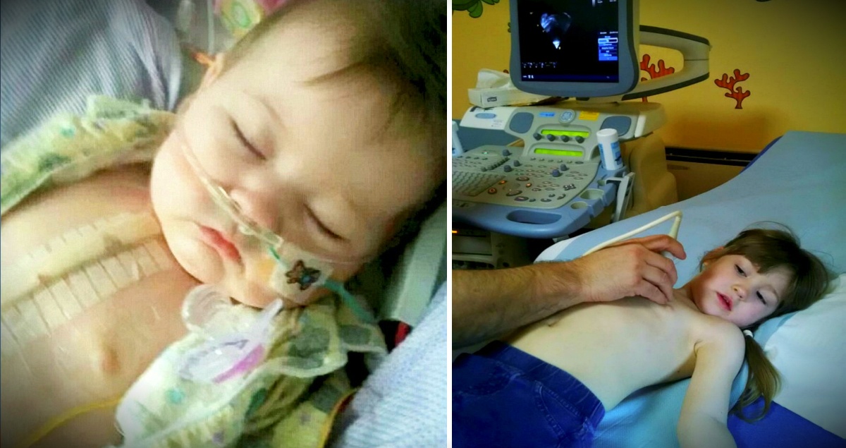 Girl's Heart Defect Deadly If She Gets Sad, So Her Parents Ask For Cards