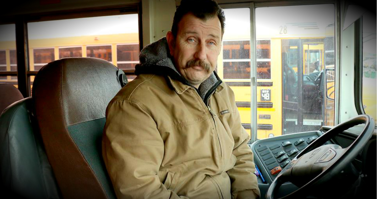 School Bus Driver's Act Of Kindness For Boy In Cold Without Hat & Gloves
