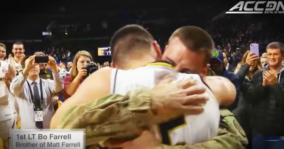 Basketball Player Left In Tears When His Hero Brother Surprised Him