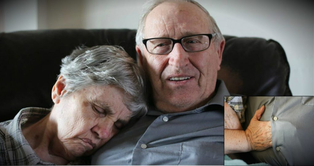 Husband Shares Why Wife With Dementia Slips Her Hand Under His Shirt