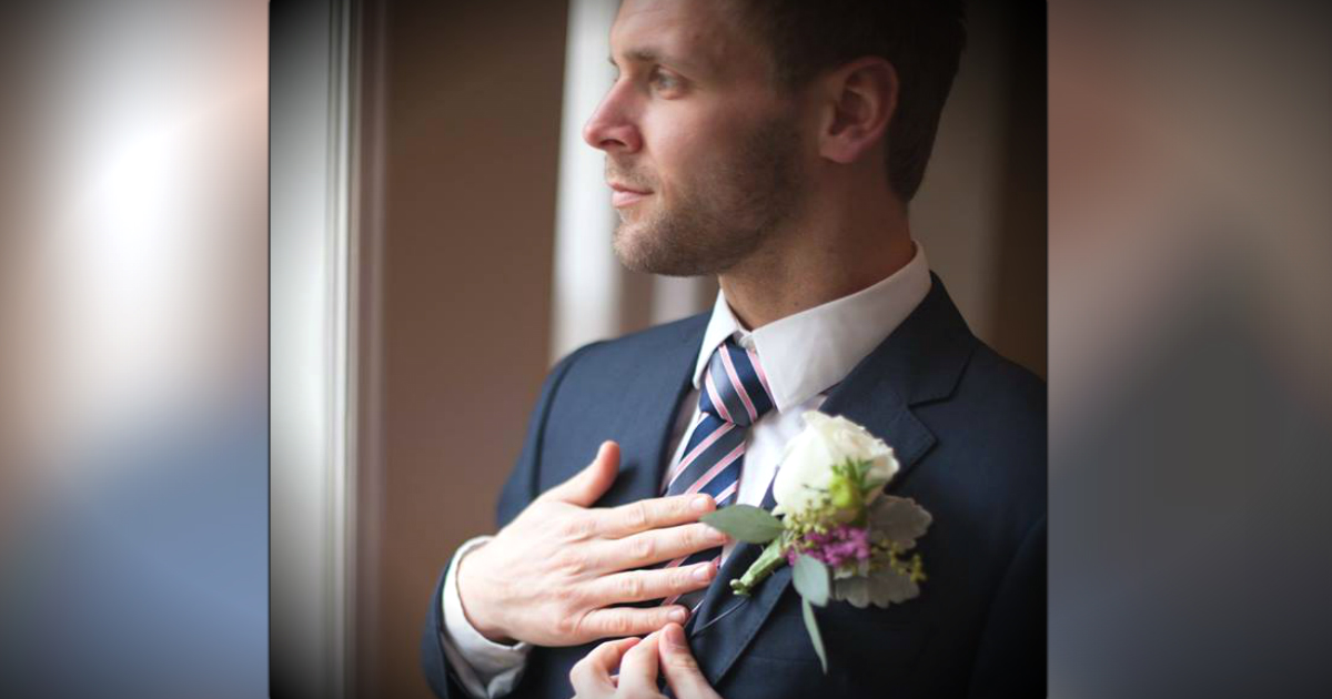 Groom's Tie Is Special Gift From Bride Who Prayed Over It Since College