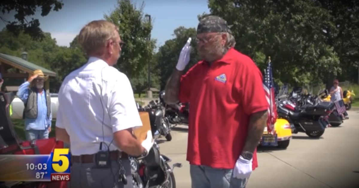 Bikers Escort A Fallen Hero's Remains To Grieving Family Back Home