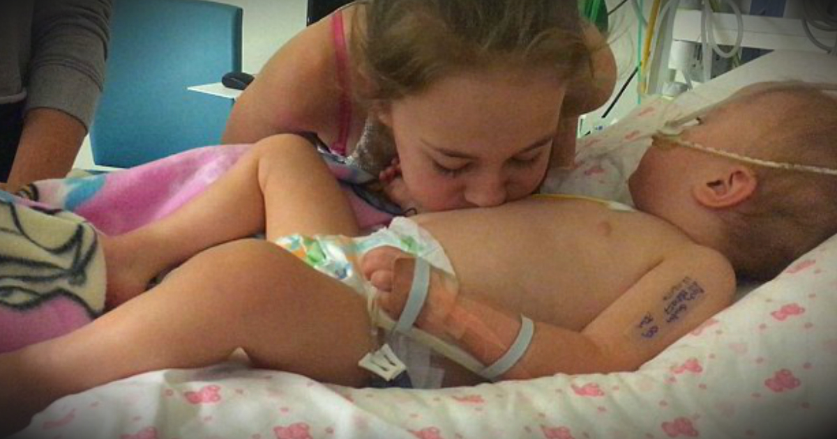 Big Sister Blew Kisses On Brain-Dead Baby's Belly And Got A Miracle