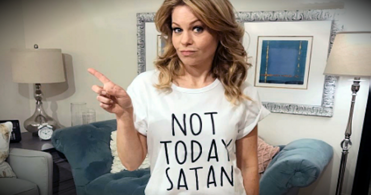 Candace Cameron Bure Responds To Attacks For Slogan On Her T-Shirt
