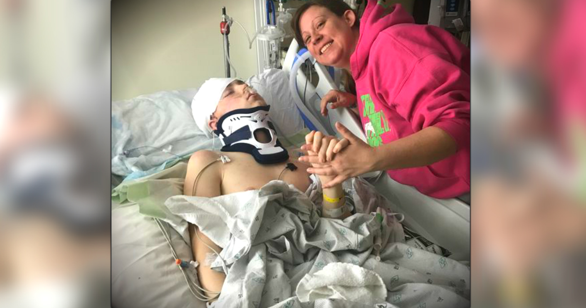 Miracle: Teen Fell Down Stairs & How His Skull Cracked Saved His Life