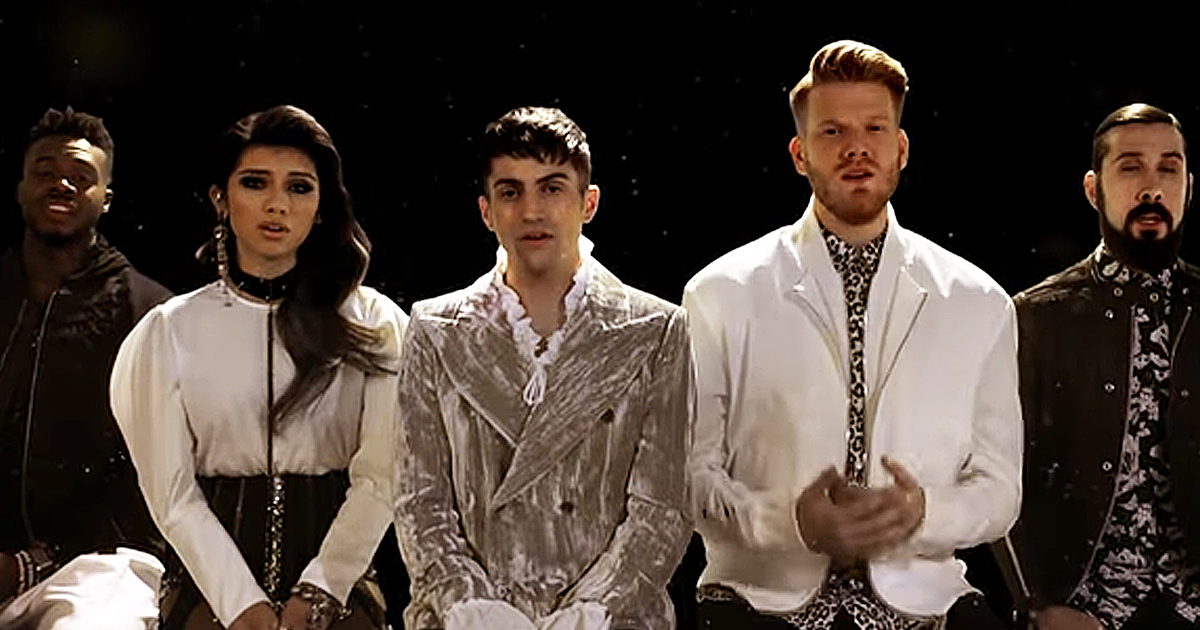 Pentatonix Performs Chilling A Cappella Rendition Of 'Can't Help Falling In Love'