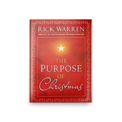 Purpose of Christmas Hardcover Book