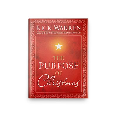 Purpose of Christmas Hardcover Book