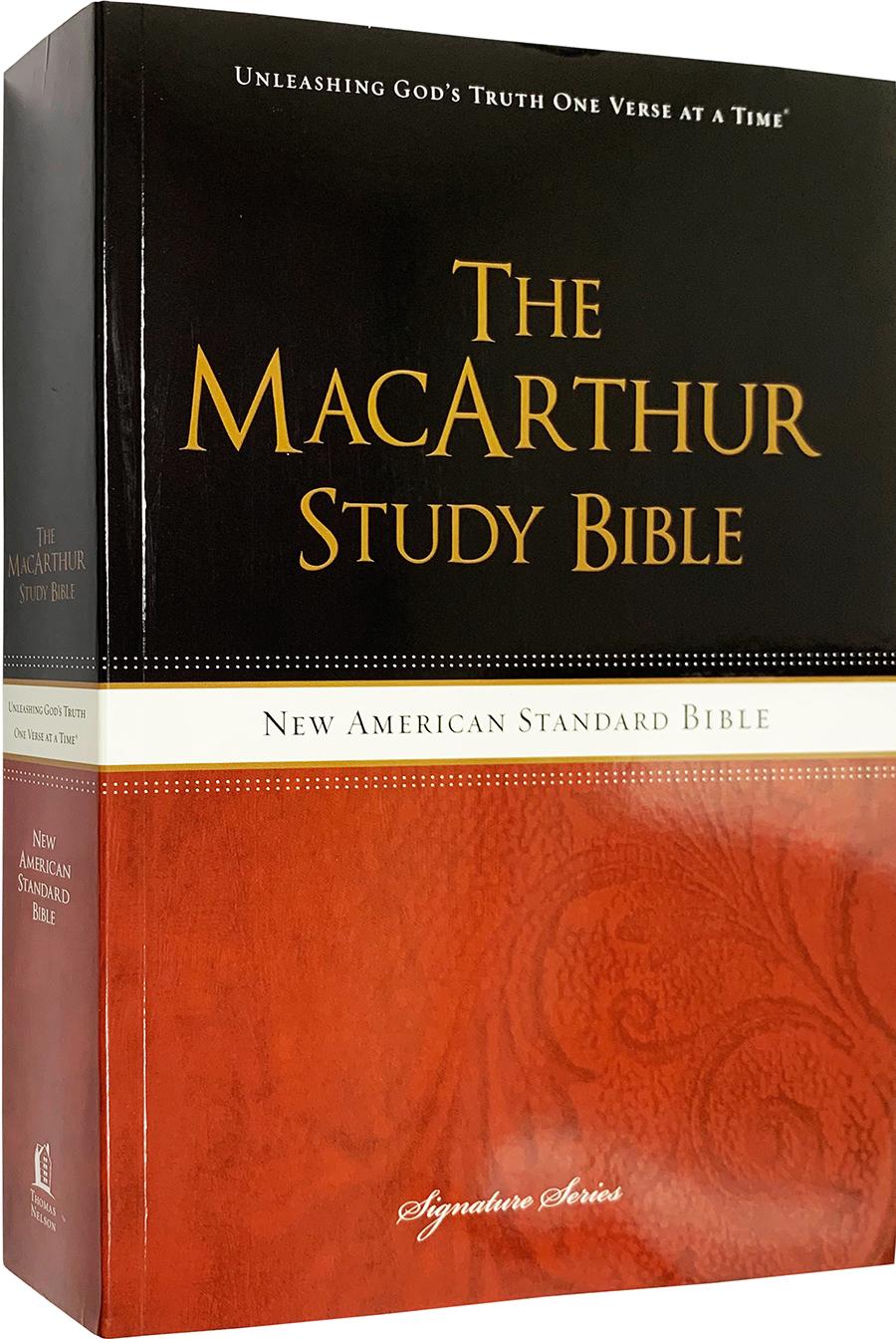 NAS MacArthur Study Bible (Paperback)