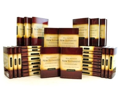 The MacArthur New Testament Complete 33-Volume Commentary Set Plus Index