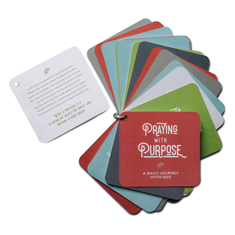 Praying With Purpose – 31 cards for your daily journey with God
