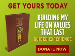Building My Life on Values That Last Guided Experience Book