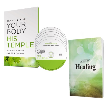Healing for Your Body His Temple audio series and Words of Healing book