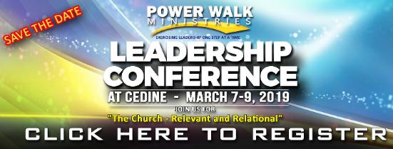 Power Walk Leadership Conference
