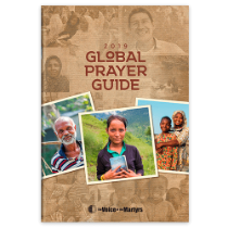 Free 2019 VOM Global Prayer Guide