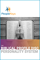 The Biblical Profile: DISC Personality System (Workbook & 2-CD Set)