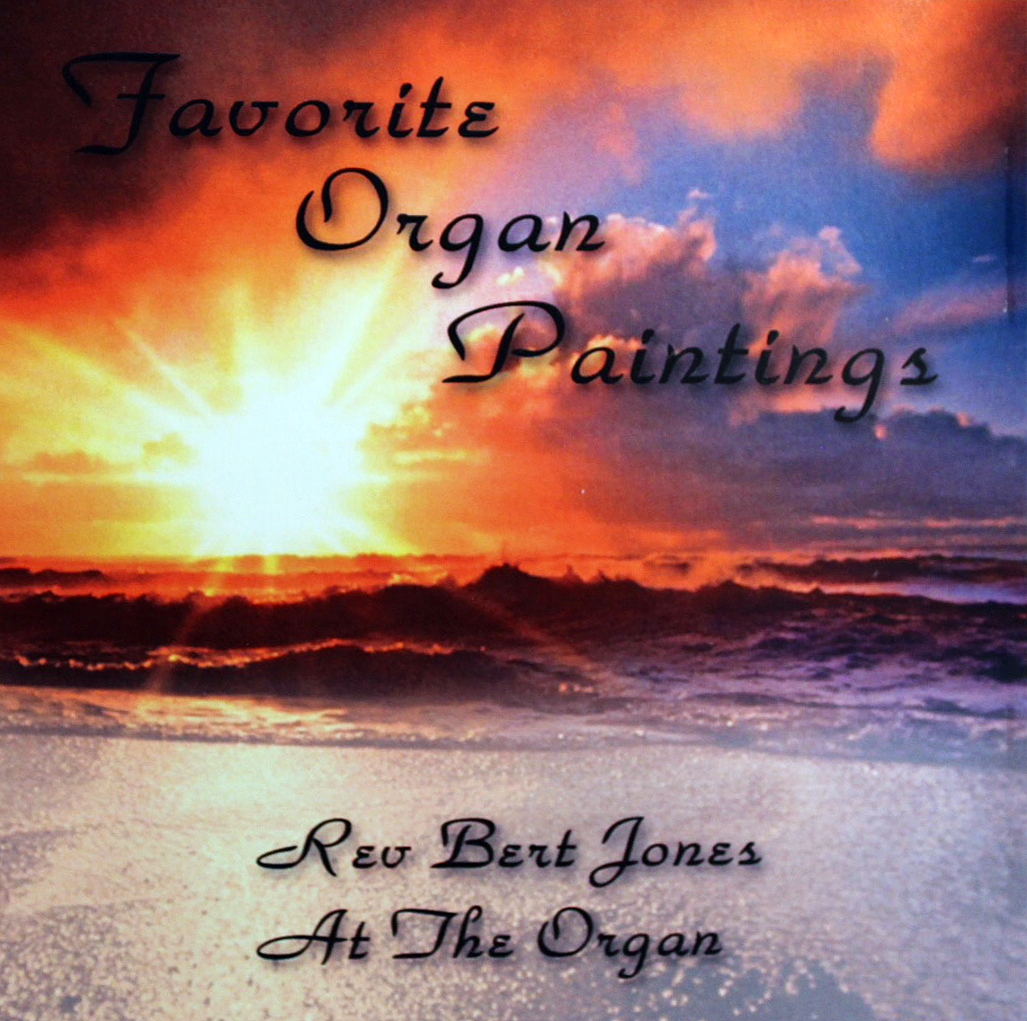 JUST RELEASED - Favorite Organ Paintings CD