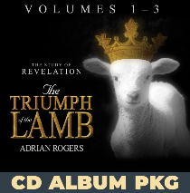 Triumph of the Lamb Volumes 1, 2 & 3 CD Album Package