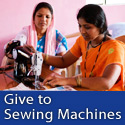 A sewing machine can help a family in Asia earn enough money to make a living
