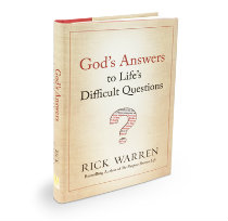 God's Answers to Life's Difficult Questions Hardback Book