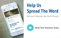 Discover the Word Monthly Giving Partner