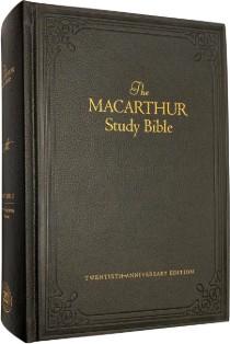 NKJV MacArthur Study Bible Twentieth-Anniversary Edition