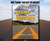 """""""Getting Right with Those You've Wronged"""" (booklet)"""