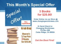 Monthly Special Offer: Fall Book GRAB BAG Give-Away