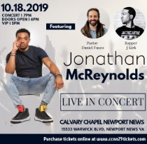 Concert Event at Calvary Chapel Newport News