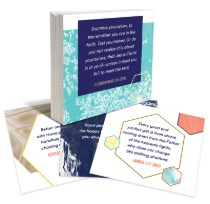Bible Memorization Card Habits of Happiness