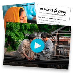 International Day of Prayer for the Persecuted Church: November 3, 2019.