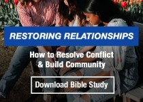 Restoring Relationships - How to Resolve Conflict & Build Community