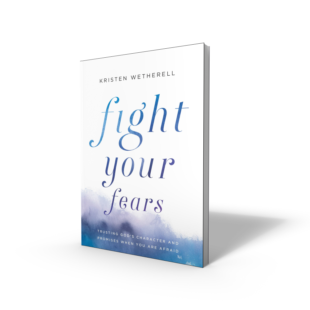 Fight Your Fears Book by Kristen Wetherell