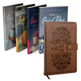 Life-Giving Proverbs Journal / Today Is A Good Day Devotional