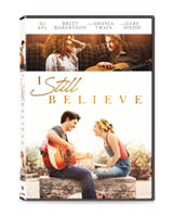 Receive I Still Believe on DVD, in thanks for your gift of support today.