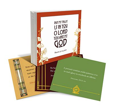 Building Your Life on Values That Last Scripture Cards