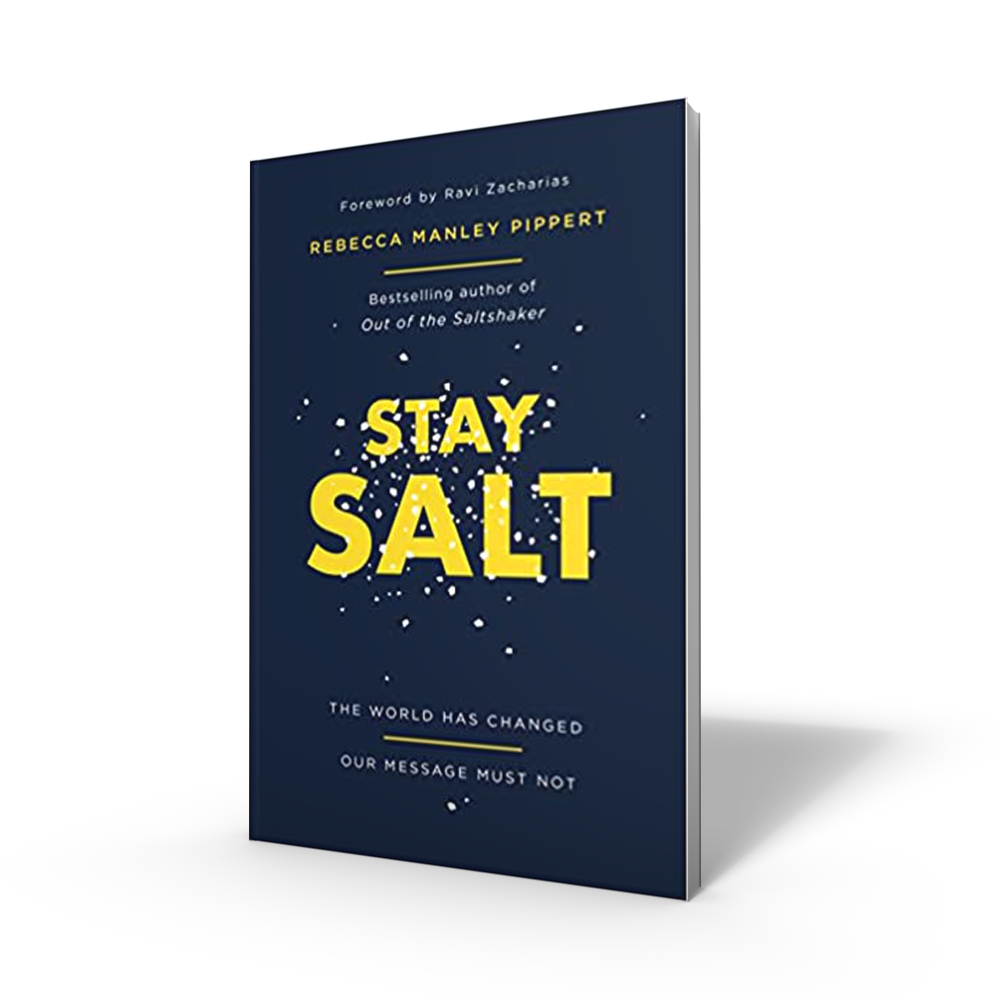Stay Salt by Rebecca Manley Pippert (paperback)