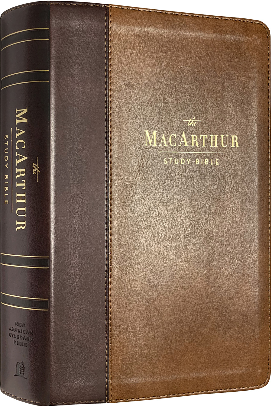 NAS MacArthur Study Bible (Second Edition) (Leathersoft Brown)
