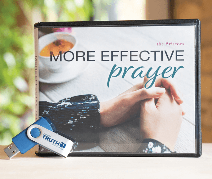 Now's the time for a more effective prayer life!
