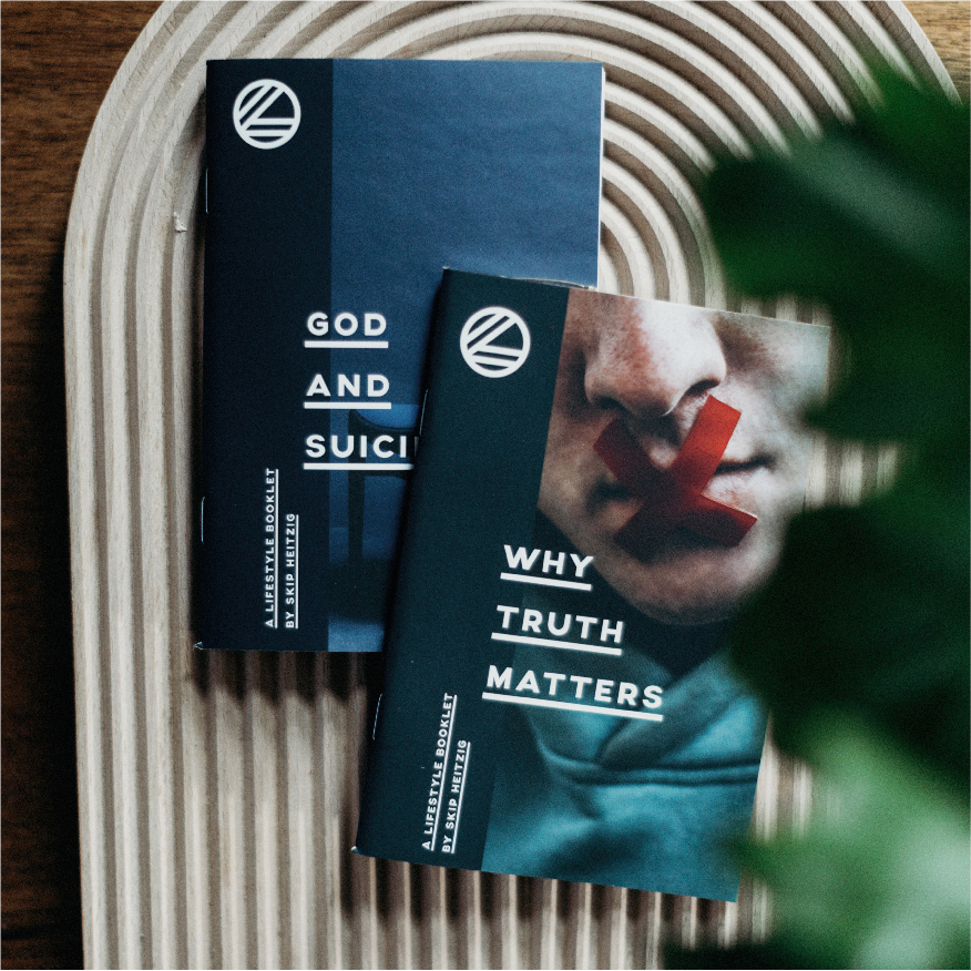 """Why Truth Matters"" and ""God and Suicide"" booklets by Skip Heitzig"