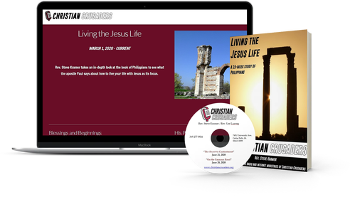Living the Jesus Life, the 15-week series by Rev. Steve Kramer