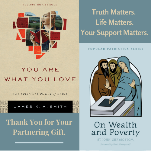On Wealth and Poverty and You Are What You Love