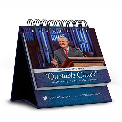 Quotable Chuck: Daily Insights from the Pulpit, flip calendar